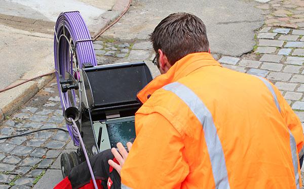 inspection - Inspection caméra